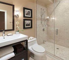 Las decoraciones en los baños modernos, fuera de lo común colocar flores artificiales, bonitas lámparas de aplique protector de panel higi...