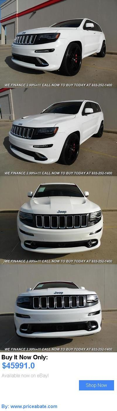 SUVs: Jeep: Grand Cherokee Srt 2014 Jeep Grand Cherokee Srt Automatic 4 Door Suv BUY IT NOW ONLY: $45991.0 #priceabateSUVs OR #priceabate