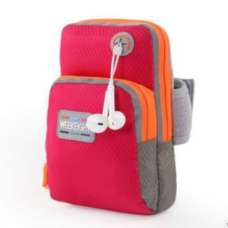 "WEEKEIGHT Sports Armband,Double Zipped Pocket Sport Gym Running Arm Band Bag Case Cover for Smartphone with Screen Size From 5.5"" to 6', Such As Iphone 6 6s Plus, Samsung Note 4 etc (Red). Creative reflect everywhere, the big bag to place phone. It also added a hole for earphone cable. This arm band is larger size: 18x10x4cm, Inner size is 9x16.5cm, suitable for smartphone with screen size from 5.5"" to 6', such as Iphone 6/6s plus,Samsung Note 4, Huawei MATE 7,Honor 6 Plus,Xiaomi NOTE…"
