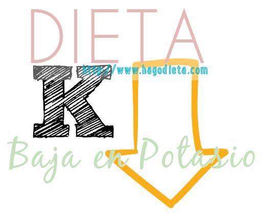 El potasio es uno de los minerales que el organismo necesita para la función digestiva, el corazón y los músculos.  Las personas que tienen una enfermedad renal crónica pueden tener que enfocarse en una dieta baja en potasio para evitar estrés en sus riñones.