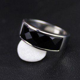 Jeulia Fashion Men Style Titanium Steel Men's Wedding Ring