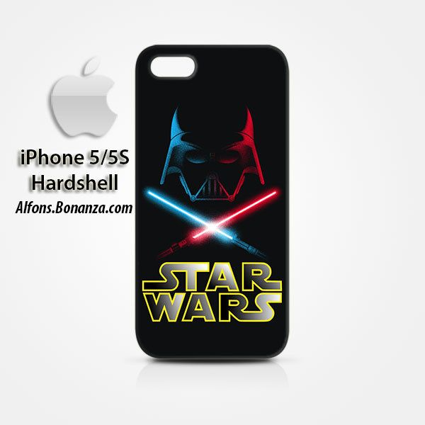 Darth Vader Lightsabers iPhone 5 5s Hardshell Case