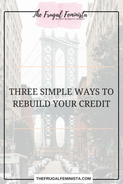 Rebuilding credit can seem like a frustrating task. Many consumers give up and eventually file for bankruptcy, which is the worst decision to make as this will make future credit building more difficult. After viewing over 50-60 credit reports per day, I have personally seen consumers bounce back into the high 600's and 700's in less than 6 months. Here are a list of Three Simple Ways To Rebuild Your Credit