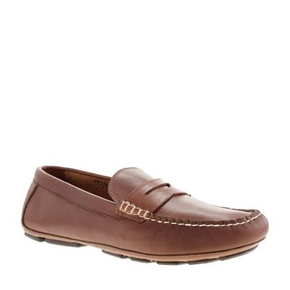 jcrew - Thompson driving penny loafers
