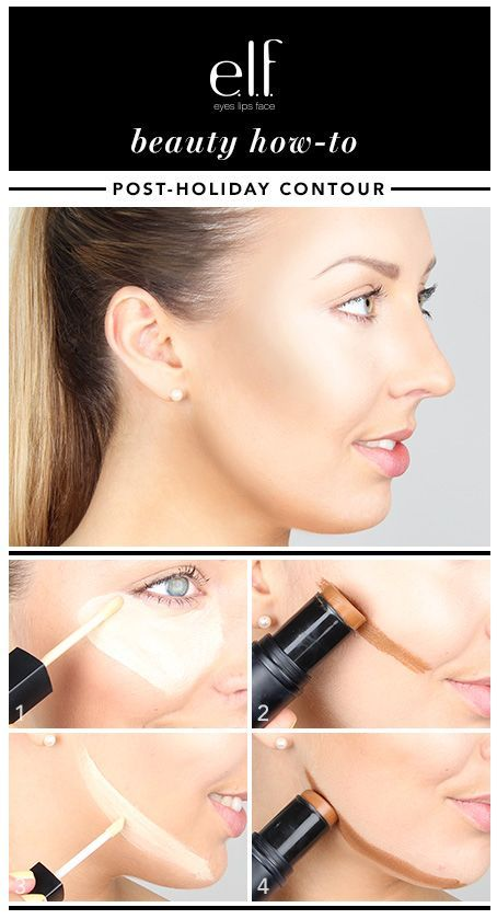 Simple Trick To Contour Your Face In 4 Steps - Toronto, Calgary, Edmonton, Montreal, Vancouver, Ottawa, Winnipeg, ON