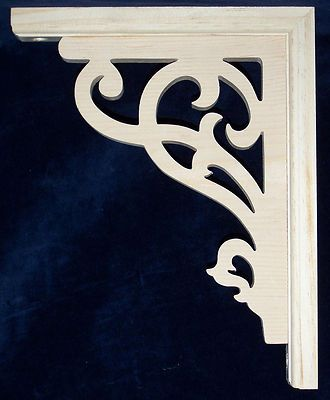 "L G's Victorian Gingerbread Fretwork Porch Brackets 12"" | eBay"