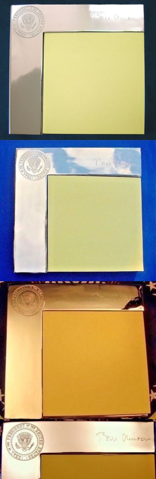 Bill Clinton: President Bill Clinton White House Presidential Seal Notepad Sticky Note Holder -> BUY IT NOW ONLY: $215 on eBay!