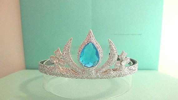 Frozen Elsa Crown Headband SilverFrozen by APPLEMINTHOUSE on Etsy