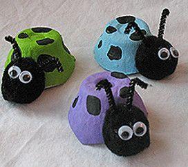 Cute Carton Ladybug Crawlers