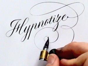 tipi di scrittura a mano