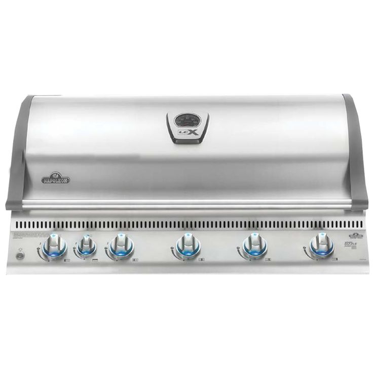 Napoleon Built In BILEX 730RBI with Infrared Bottom and Rear Burners Gas Grill Head comes with highest standard components. Napoleon LEX Series Built In