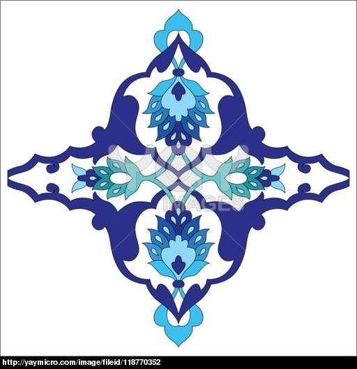 sanatsal osmanlı desen serisi seksen bir