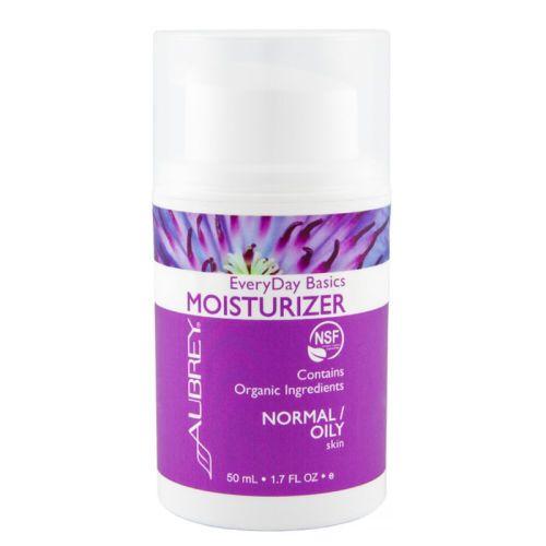 Aubrey EveryDay Basics Yüz Nemlendiricisi Normal/Yağlı Cilt Normal ve yağlı ciltlerin günlük temel bakımını nazikçe yapar, doğal bir şekilde temizler ve nemlendirir. Normalden yağlıya doğru olan cilt tipleri için idealdir. Cildinize yumuşaklık ve elastikiyet sağlarken hafifçe nemlendirir.