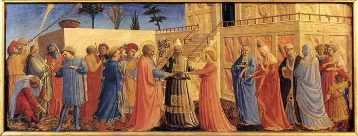 1432 - Marriage of the Virgin - Fra Angelico