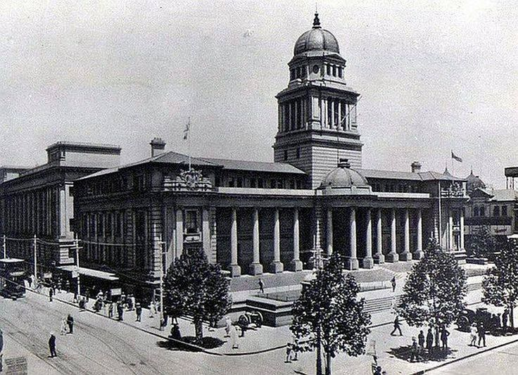 The Johannesburg City Hall in 1912.