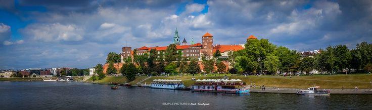Wawel Castle in Krakow - Panorama by Mark Benedyczak on 500px