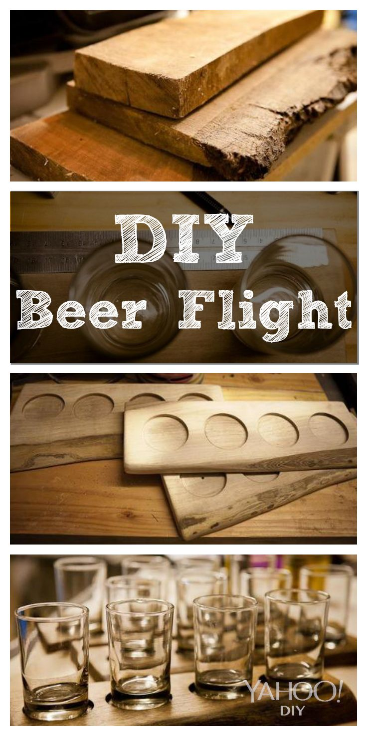 How to make your own #beer flight- a perfect DIY gift for your DH