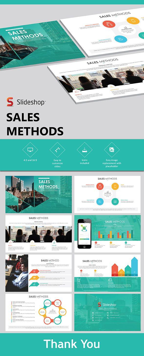 Sales Methods - PowerPoint Template