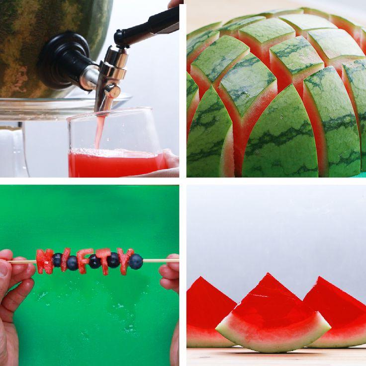 4 Creative Watermelon Party Ideas | https://lomejordelaweb.es/
