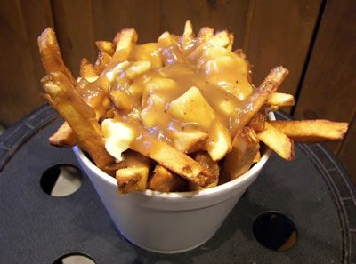 Poutine Recipe with Beef Brisket and Bacon   Canadian Cheese Fries And Gravy