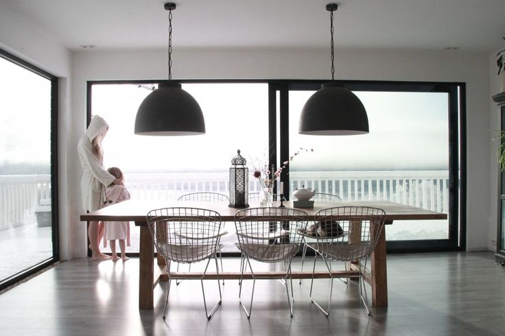 Table from www.byrust.no   Love this view