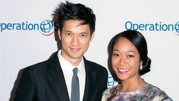 Harry Shum Jr. Marries Longtime Girlfriend Shelby Rabara - http://www.hollywoodfame.com/harry-shum-jr-marries-longtime-girlfriend-shelby-rabara.html