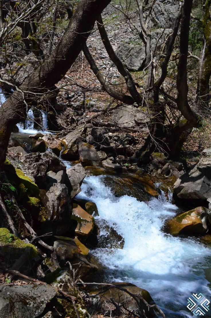 Hiking in the Anthochori Canyon which is part of the Pindos Mountain. Waterfalls at the Montanema Handmade Village #greece #outdoors#hiking #passionforgreece #mountains #waterfalls