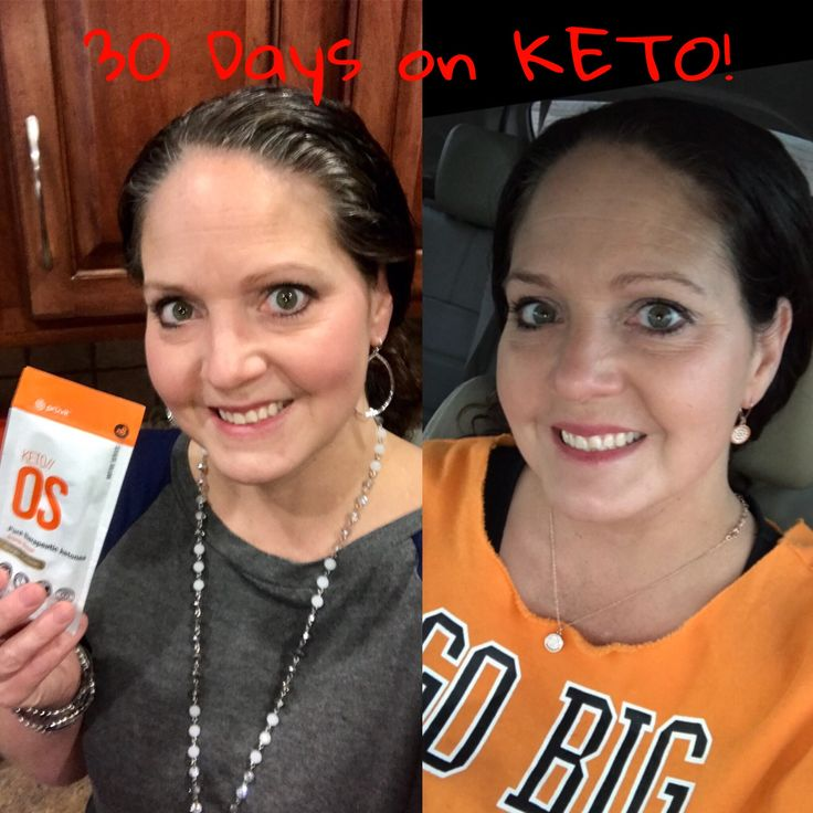 My 30 day results on KETO//OS! I'm hooked on these results ...