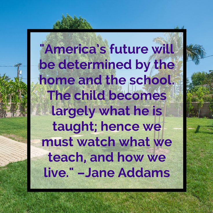 Quote By Jane Addams Landscaping Behind Gerald Community In Encino California Home Builders