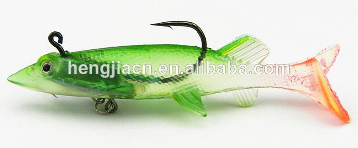 100mm soft plastic fishing lure mix wholesale fishing tackle 10CM 20G Silicone Plastic soft lure shad soft plastic fishing bait