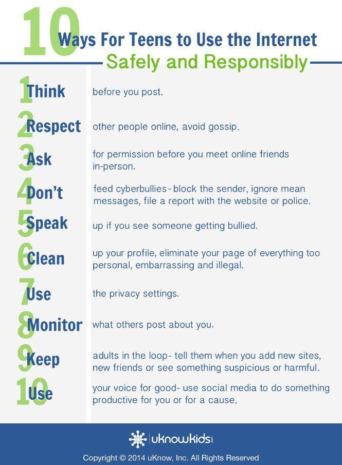 10 Internet Safety Tips