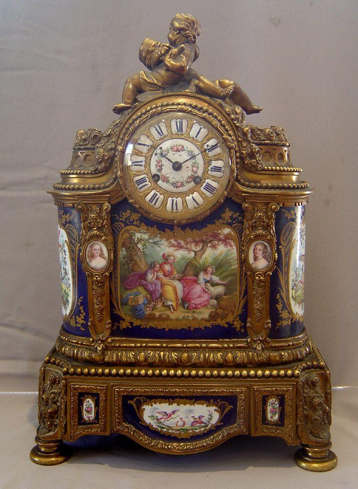 636 Best Antique Clocks Images On Pinterest Antique