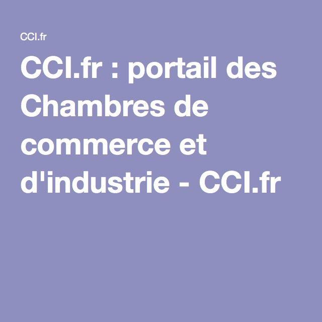CCI.fr : portail des Chambres de commerce et d'industrie - CCI.fr