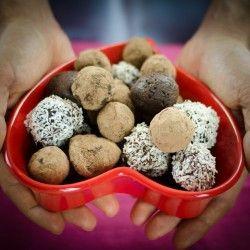 Chocolate Truffles http://ancestralchef.com/paleo-chocolate-truffles-recipe/ #paleo #primal #recipe #recipes #paleoliving #healthy #food #health #nutrition #diet #glutenfree #gf #chocolate #truffles