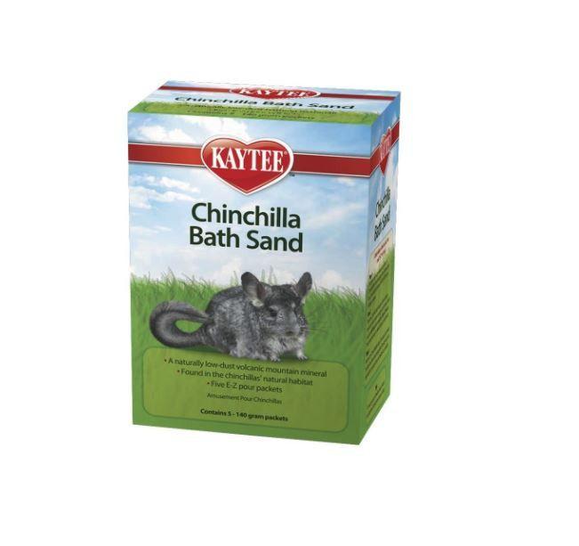Kaytee Small Pet Chinchilla Bath Sand 5-pack