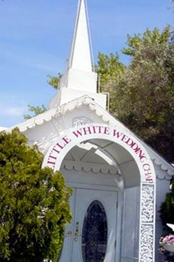 The Little White Wedding Chaple