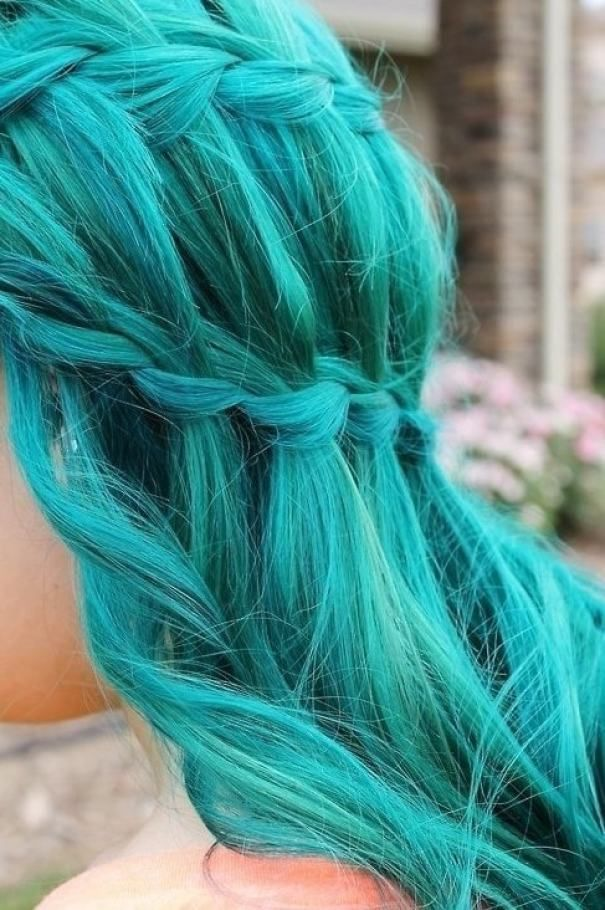 12 Best Images About Teal Hair Colors On Pinterest Hair Color