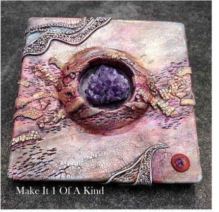 "2016 seems to be a year of exploration for many artisans. This polymer clay tile by Connie Clark is a great example of an artist stepping out of their comfort zone, her's being jewelry. Her first tile explorations are 6"" x 6"", but she is planning larger works after working some things out. I can't wait to see what else she does! Check out Connie's Facebook page for more examples and try our Inspirational Challenge at The Polymer Arts magazine blog, http://www.thepolymerarts.com/blog/12396"