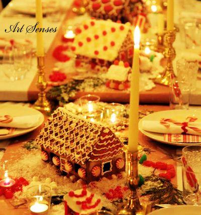 Коледна къщичка от бисквити | Art senses – артистични идеи за интериор и градина