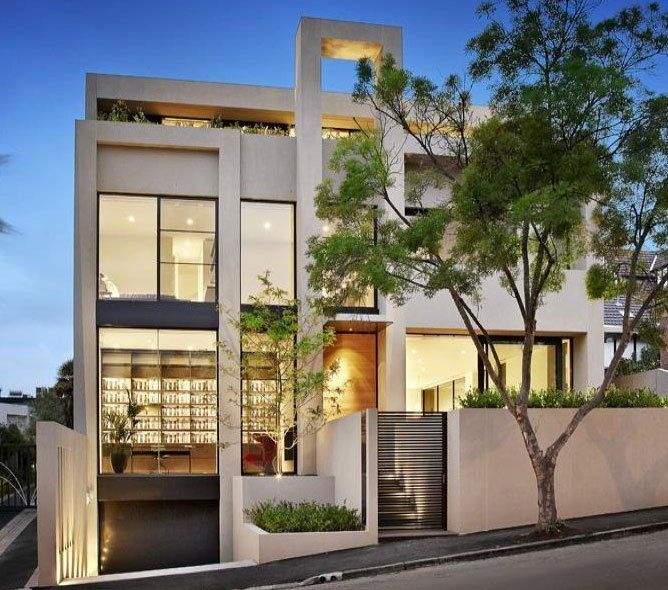 Minimalist house designs facades pinterest fachadas for Pinterest minimalist home