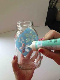 Everyday Blush: DIY mason jar tumbler