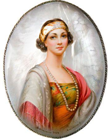 """Olga Borisova """"Portrait"""""""