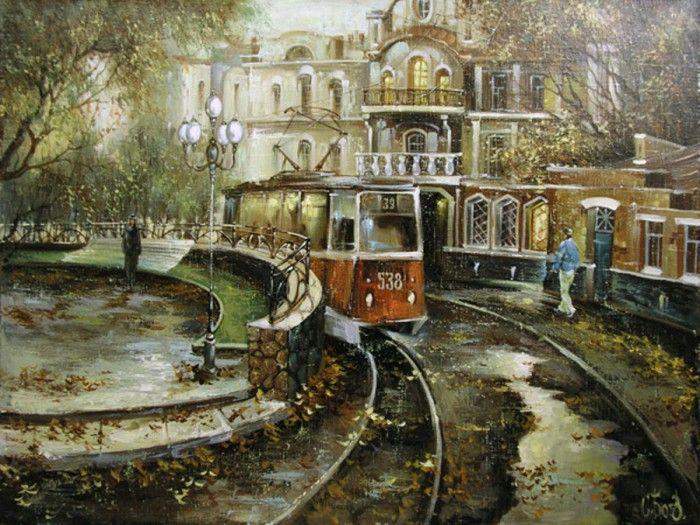 пейзажи художника Сергея Боева – 08