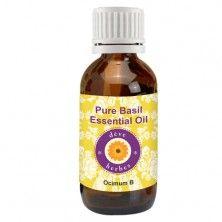 Pure Basil Essential Oil - Ocimum Basilicum - 30ml