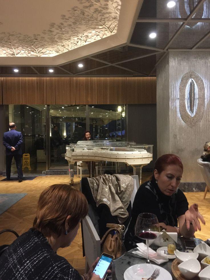 I'm at Wyndham Grand Istanbul Kalamış Marina Hotel!