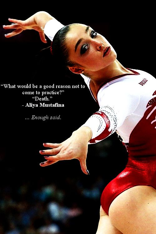 Love this quote<3, gymnast, gymnastics, moved from Kythoni's main Gymnastics board m.59.12 #KyFun