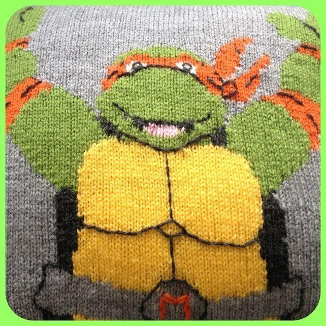 Knitting Pattern For Ninja Turtles Jumper : 17 best images about TMNT on Pinterest Diy costumes ...