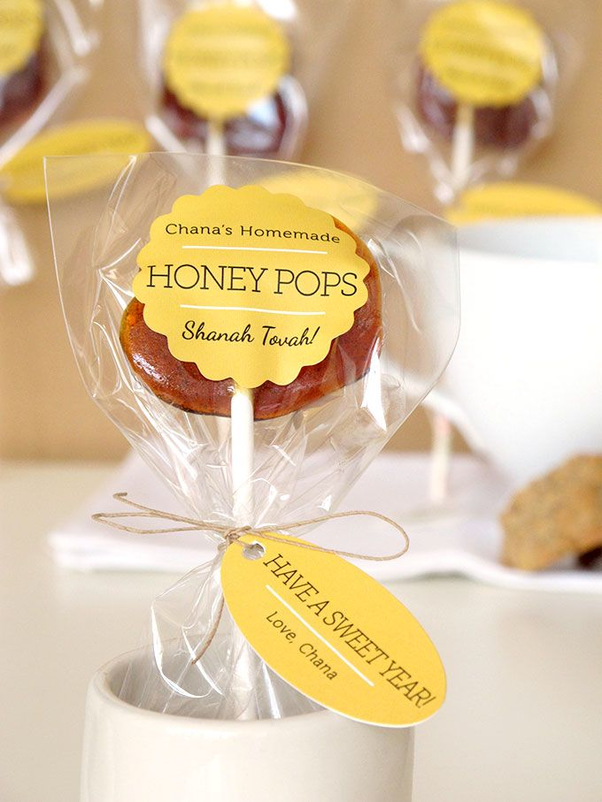 Honey Pops for Rosh Hashana | Evermine Occasions | www.evermine.com