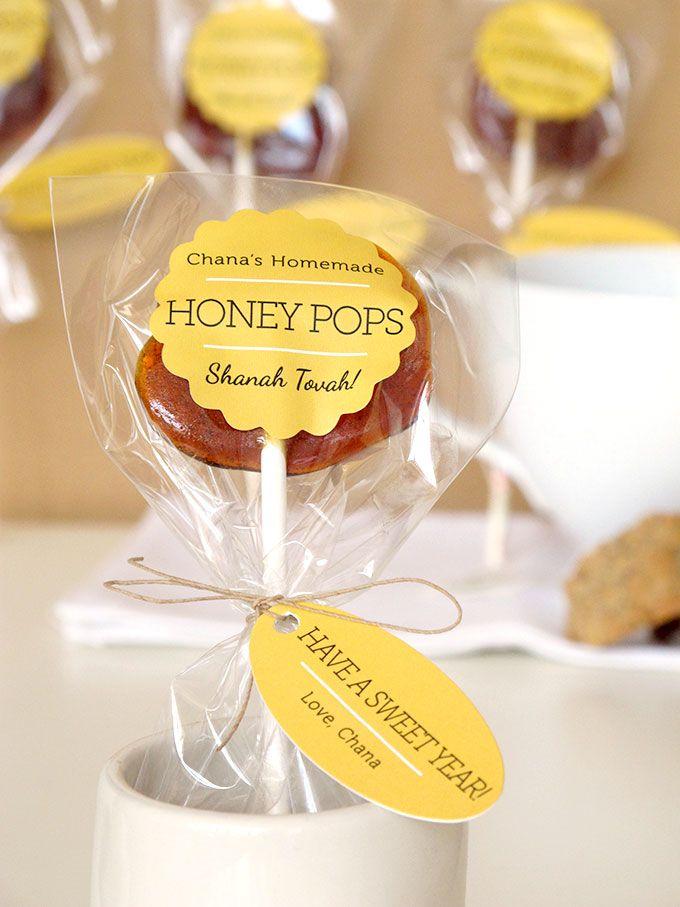 Honey Pops for Rosh Hashana   Evermine Occasions   www.evermine.com