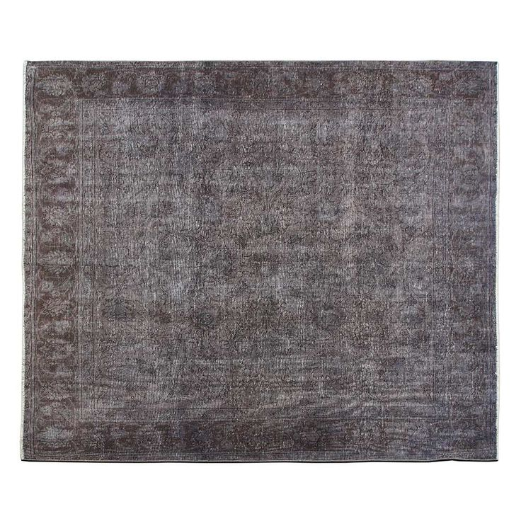 """9'6"""" x 9'6"""".Overdyed Rugs, Traditional area rug for sale, Antique Persian rug for living room, Dark Color, Code : S0101401"""